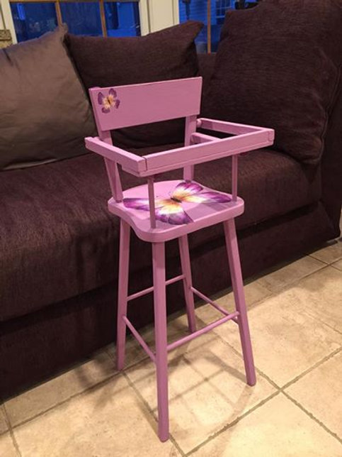 Butterfly Doll High Chair