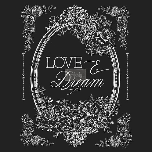 LOVE & DREAM  22X30