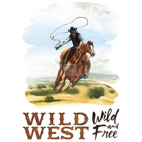 WILD WEST 23x34