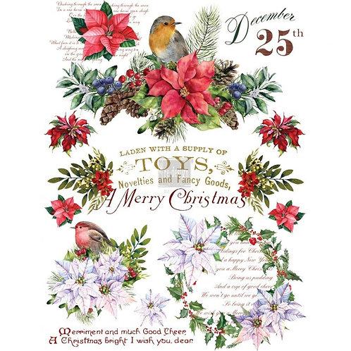 CHRISTMAS GREETING 23X33