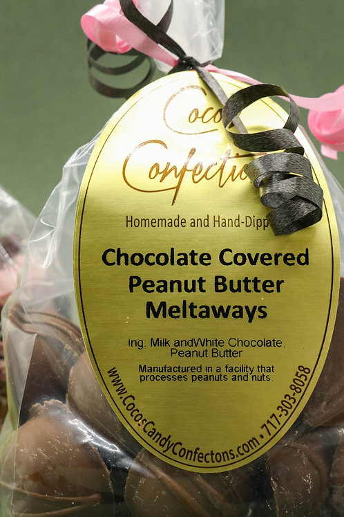 CHOCOLATE COVERED PEANUT BUTTER MELTAWAYS