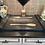 """Thumbnail: WOODEN """"NOODLE BOARD""""* - stove top cover in black"""