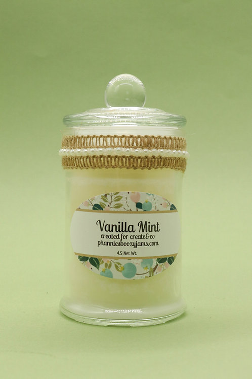 APOTHECARY CANDLE - Vanilla Mint