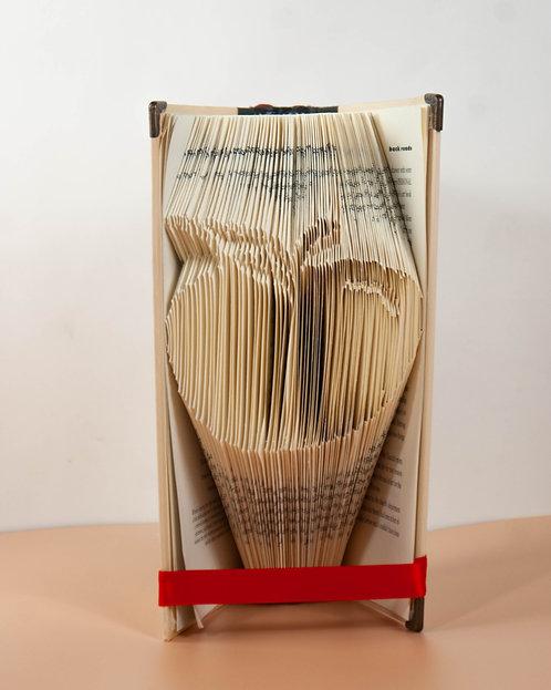 BOOK ART - Apple Book Fold