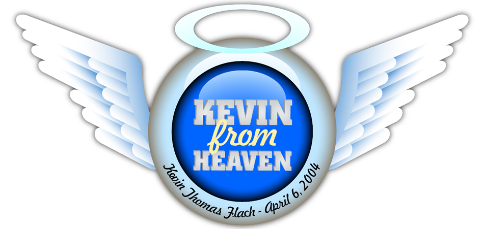 Kevin from heaven Sticker