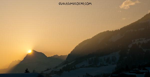 Golden dawn - Savoie