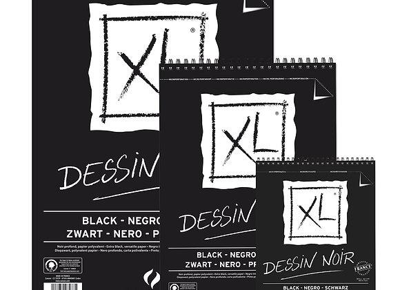 Canson XL Dessin Noir Svart papir 150g A5