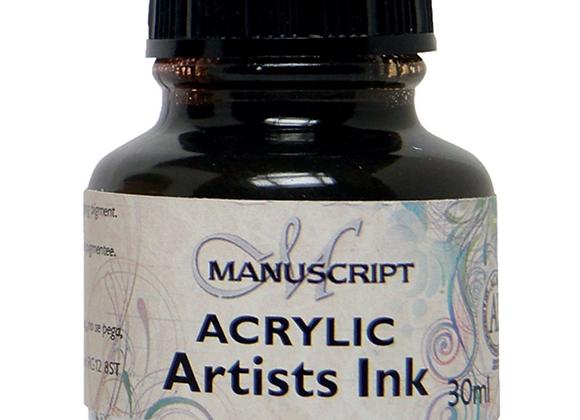Manuscript Sepia Ink