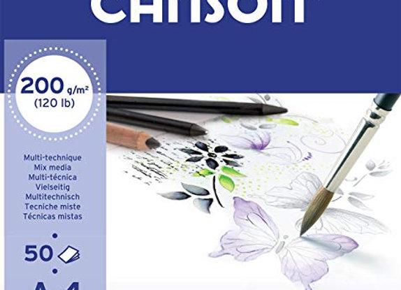 Canson Imagine Mix Media 200gm 50 ark
