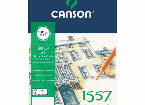 Canson 1557 180g A5 30 ark