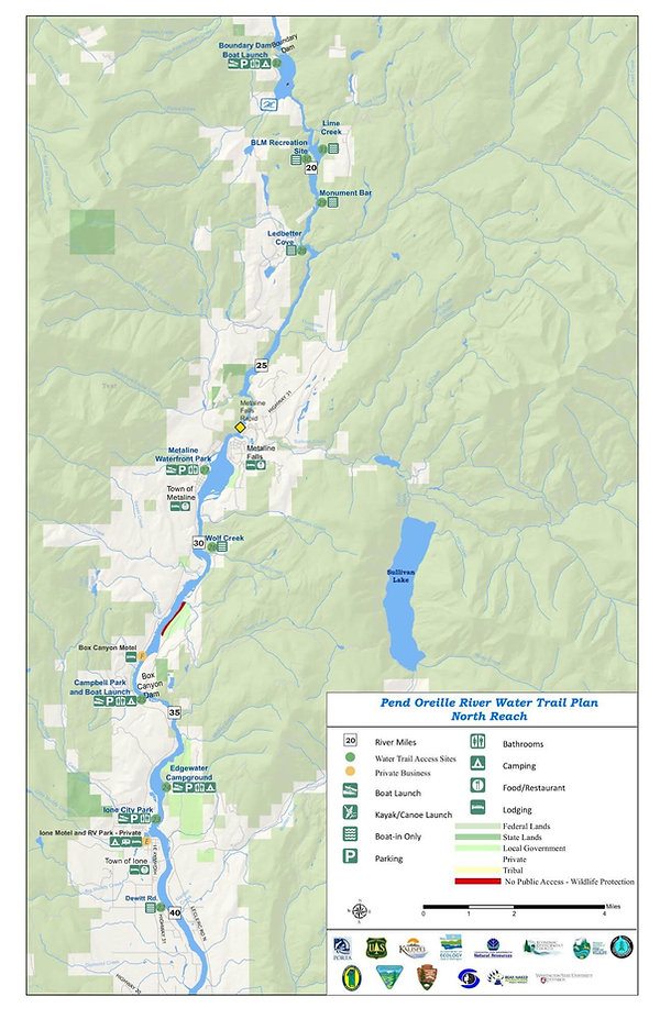 Pend Oreille River Water Trail