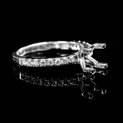 Bucci Jewelers Semi-Mount Rings