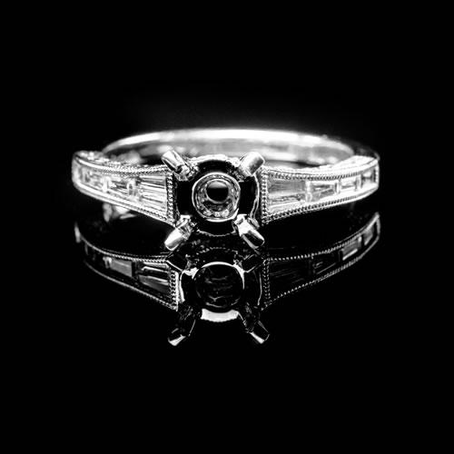 Bucci Jewelers Semi-Mount Ring