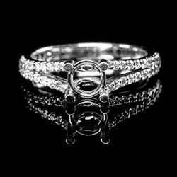 Bucci Jewelers Semi-Mount Ring