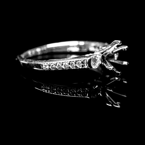Bucci Jewelers Semi-Mount Rings