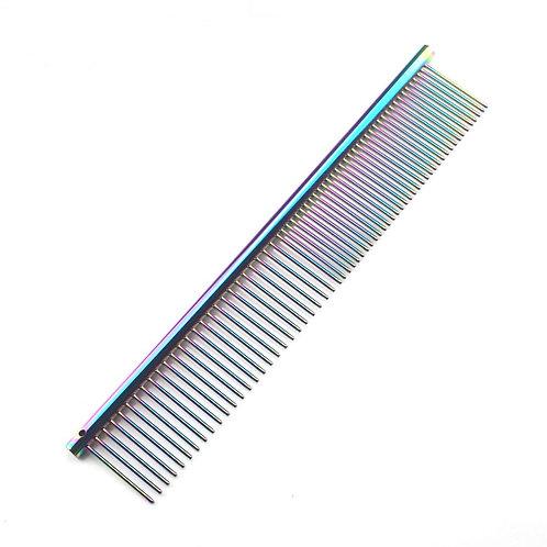 Rainbow Stainless Steel Comb