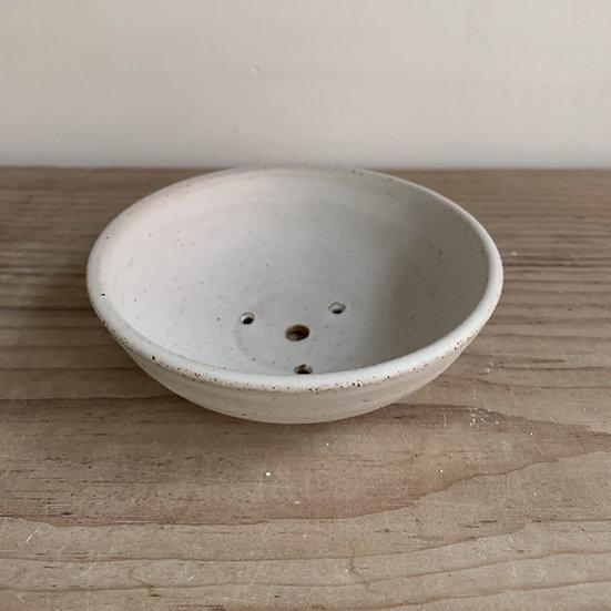 Dolomite Glaze Stoneware Soap Dish