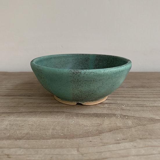 Copper Glazed Stoneware Soap Dish