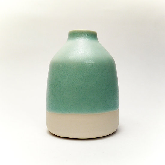 Jade Glazed Porcelain Bottle