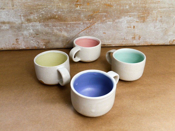Espresso cups 4 colours  ( more coming soon  )