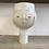 Thumbnail: Large Punch bowl kind face vase in sea salt glaze
