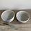 Thumbnail: Tea bowls with cobalt swoosh