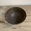Thumbnail: Black clay bowl hand built with foot ring