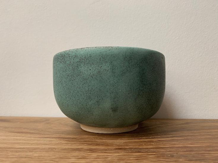 Copper Glazed Matcha Bowl Stoneware