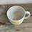 Thumbnail: Porcelain yellow spot mug