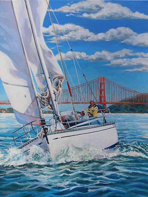 Sailing The San Francicso Bay