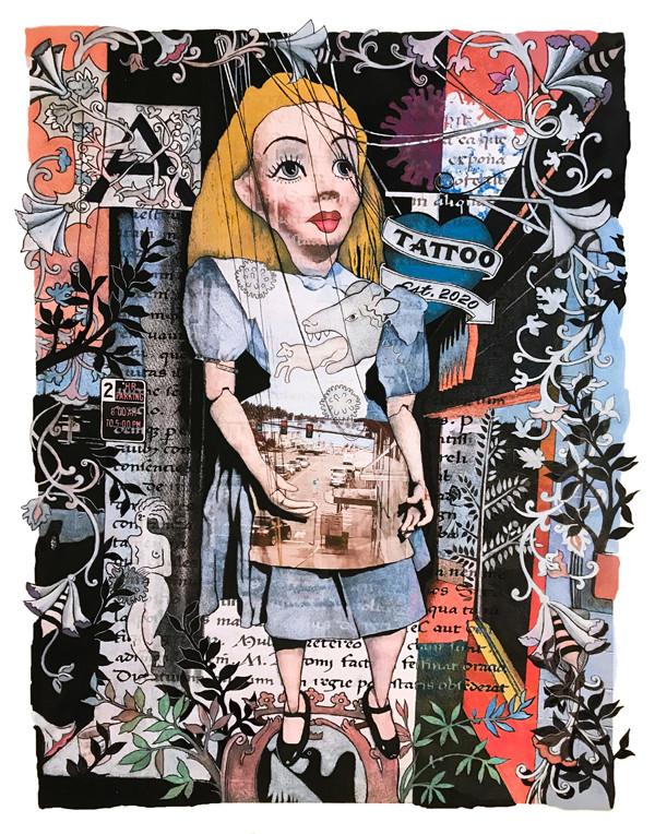 Alice isn't a Puppet 17x22