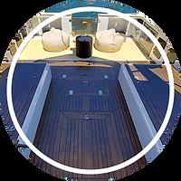 Catamaran popa lazy lisbon cruises