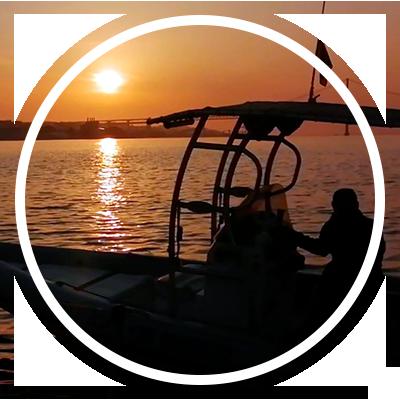 passeios de barco no Tejo