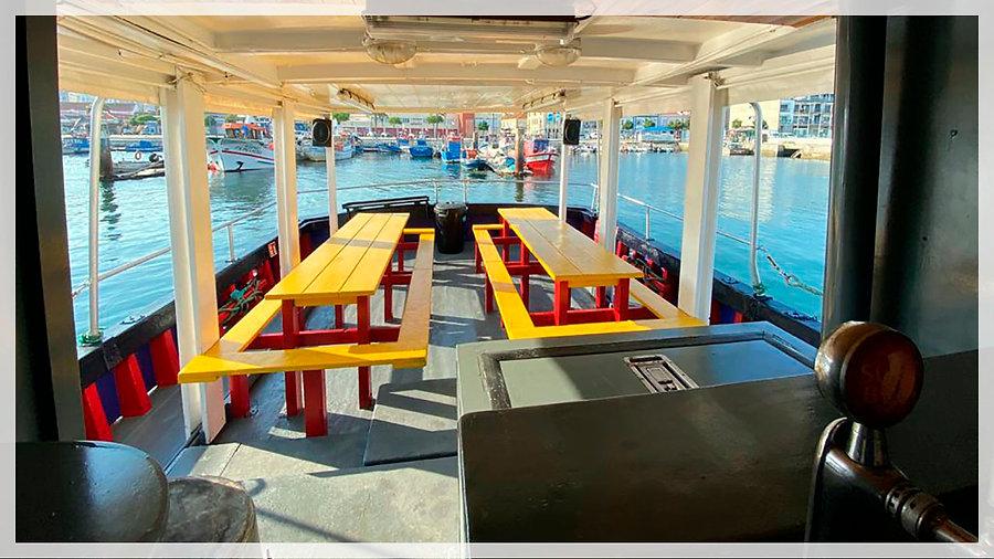 Barco Clássico Deck Traseiro