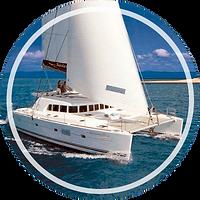 Catamaran Attreversiamo 44 lazy lisbon cruises