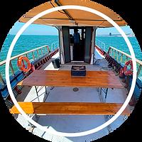 Barco tradicional Emília lazy lisbon cruises