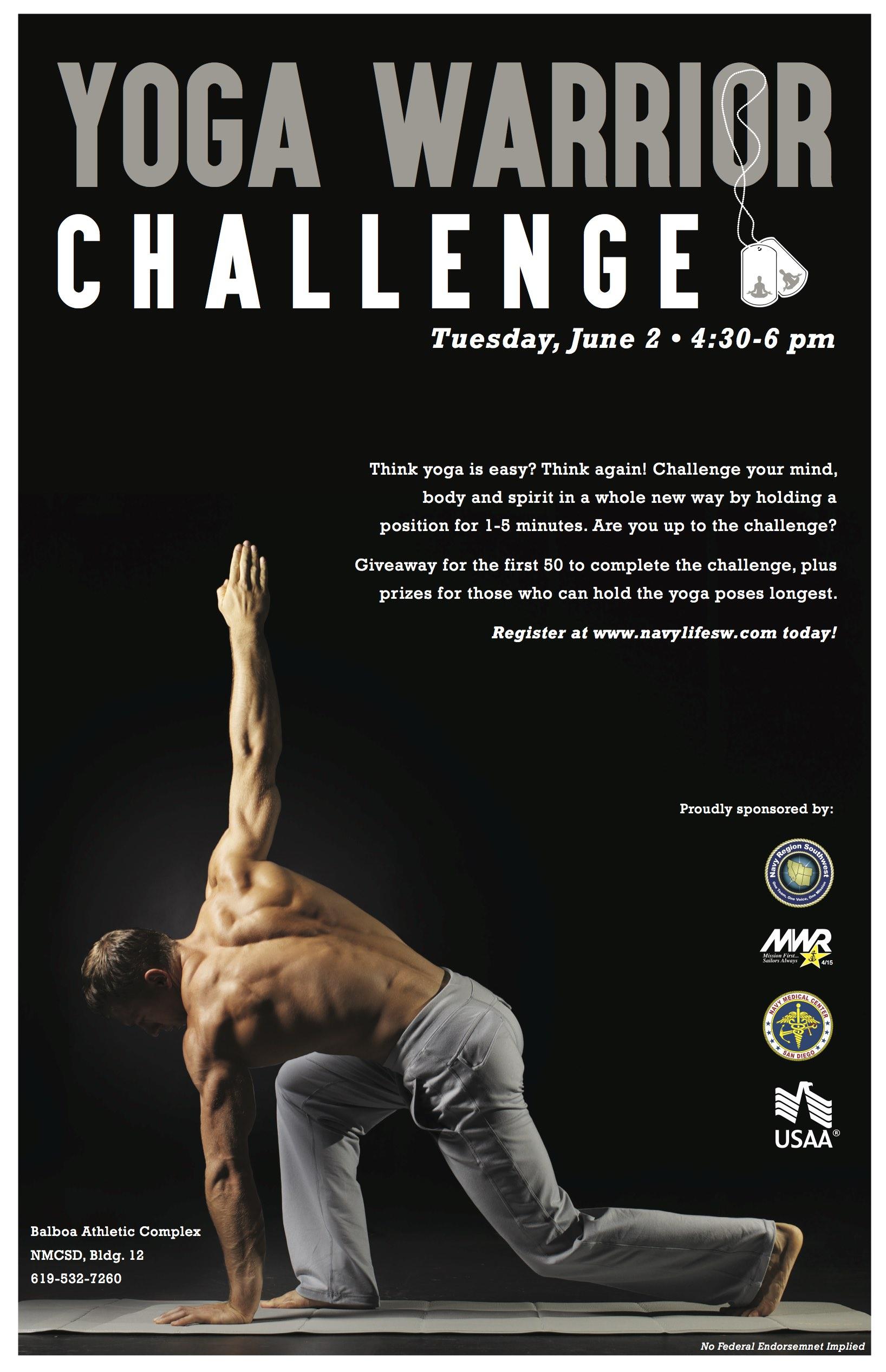 Yoga Warrior Challenge