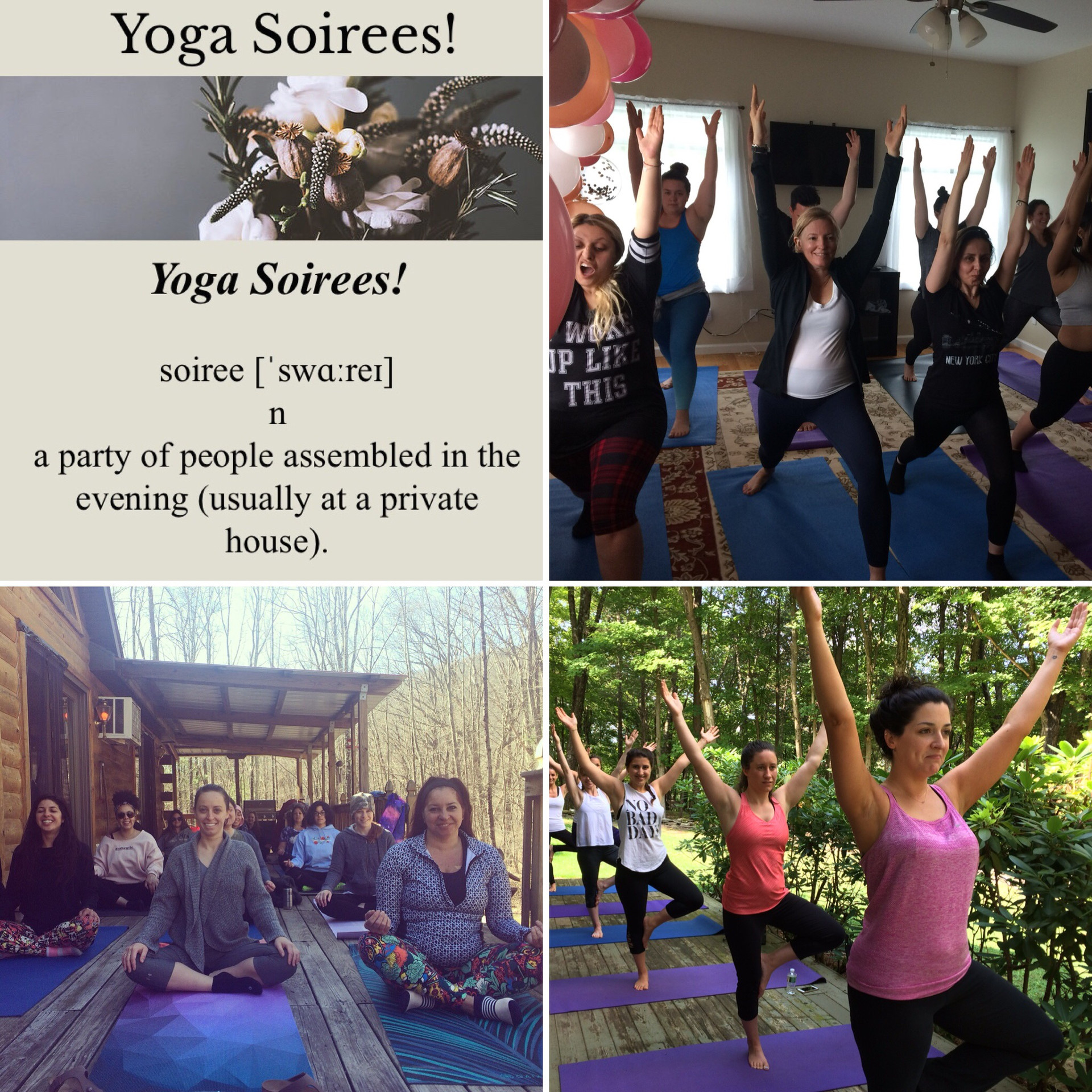 Wedding Yoga Soirees