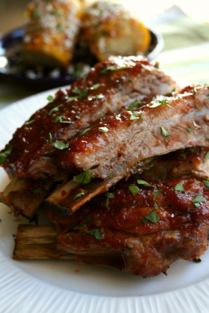 Pepper jelly spare ribs