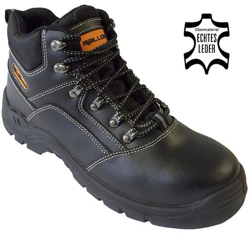 Arbeitsschuhe RALLOX 521 hoch S3 schwarz echt Leder
