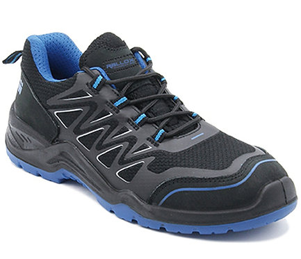 Arbeitsschuhe RALLOX 736 Sneakers S1P schwarz blau