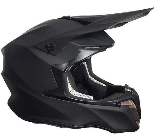 Motocrosshelm Downhill RALLOX 806 matt schwarz