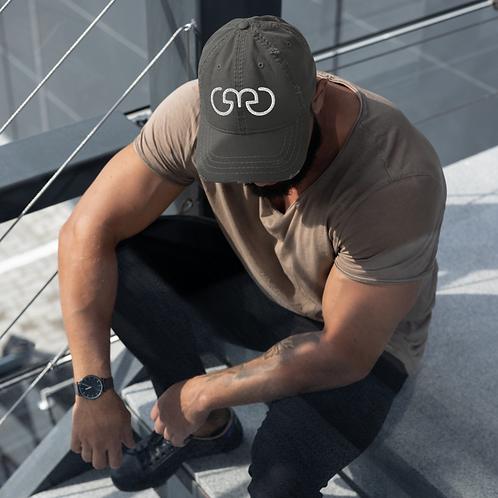 GMG Distressed Dad Hat