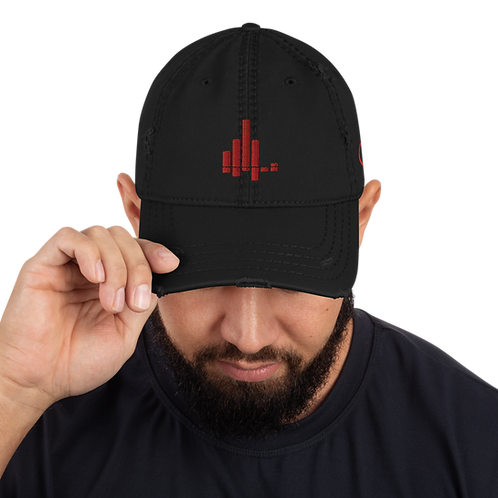 Distressed Frequency Understood Dad Hat
