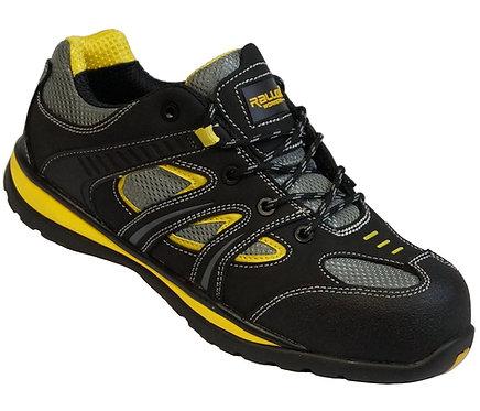 Arbeitsschuhe RALLOX 3002 Sneakers S1P schwarz gelb