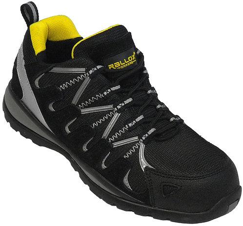 Arbeitsschuhe RALLOX 064 Sneakers S1 schwarz gelb