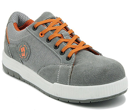 Arbeitsschuhe RALLOX 603 Sneakers S1 grau orange
