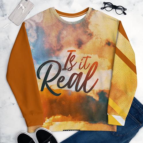 "GMG Unisex ""Is It Real"" Sweatshirt"
