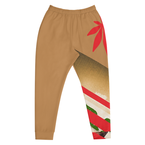 """Men's """"Raw & A Fonto""""/ Red Leaf Joggers"""