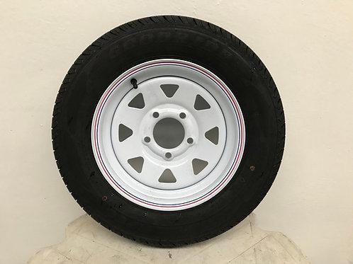 Vulcan Trailer - Spare Wheel